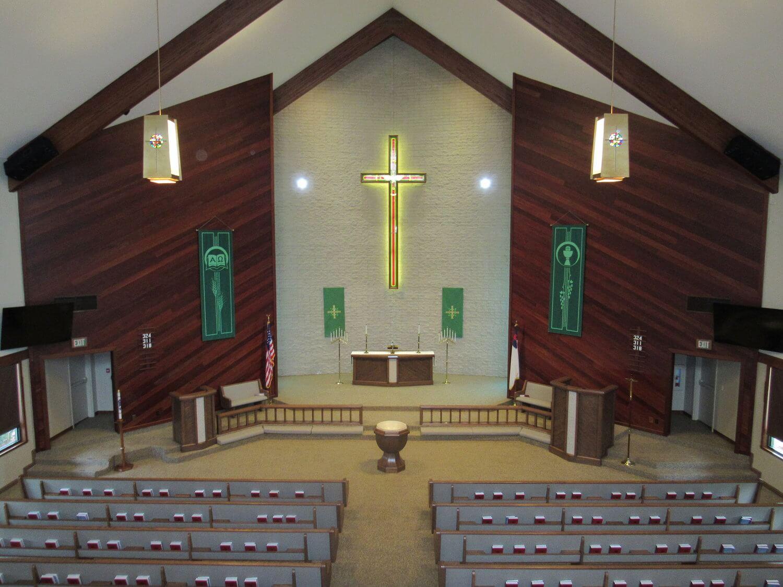 St. Mark's sanctuary from the balcony